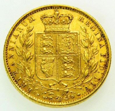 how to tell where a gold sovereign was minted
